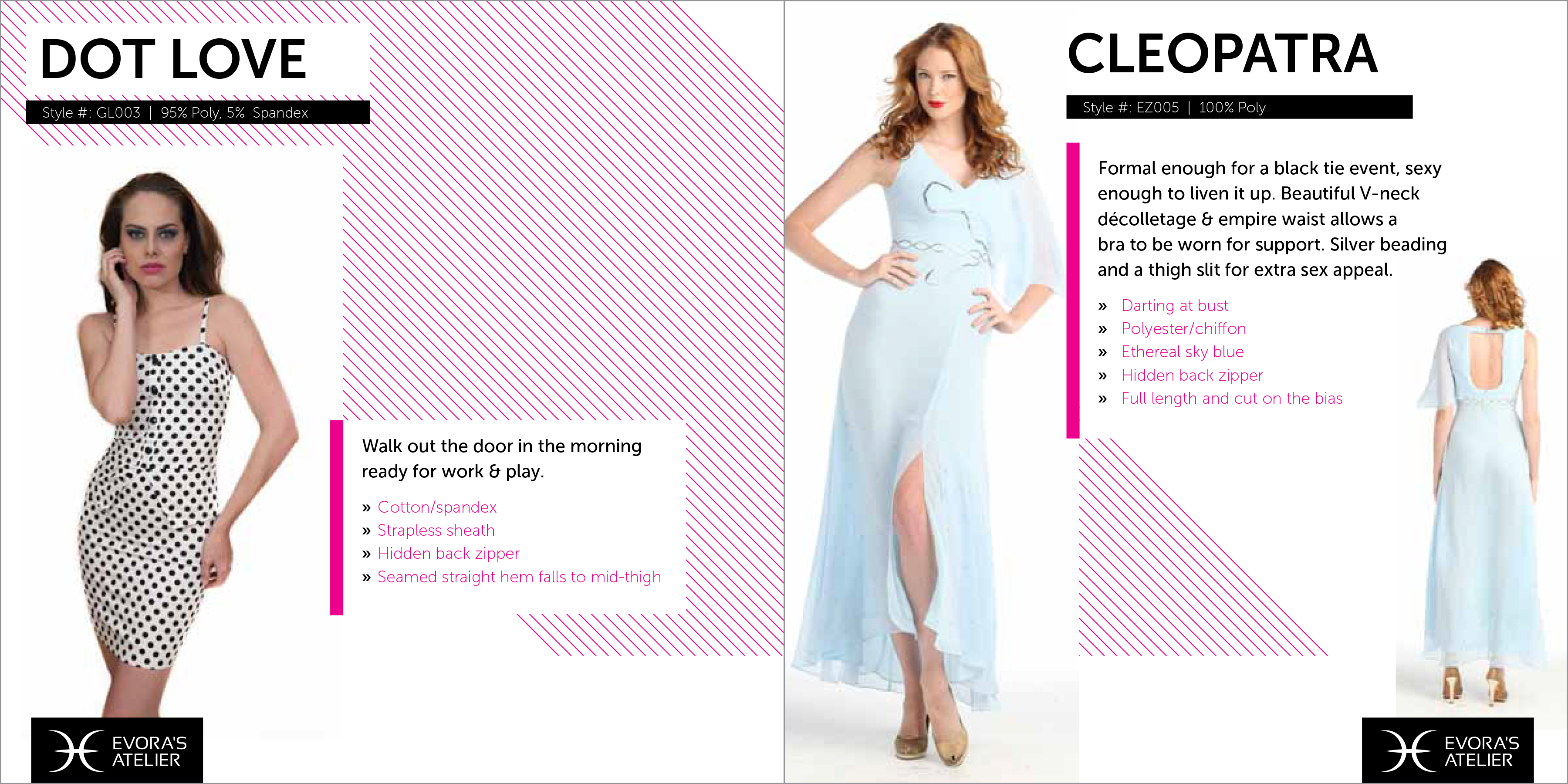 fun fashion catalog design