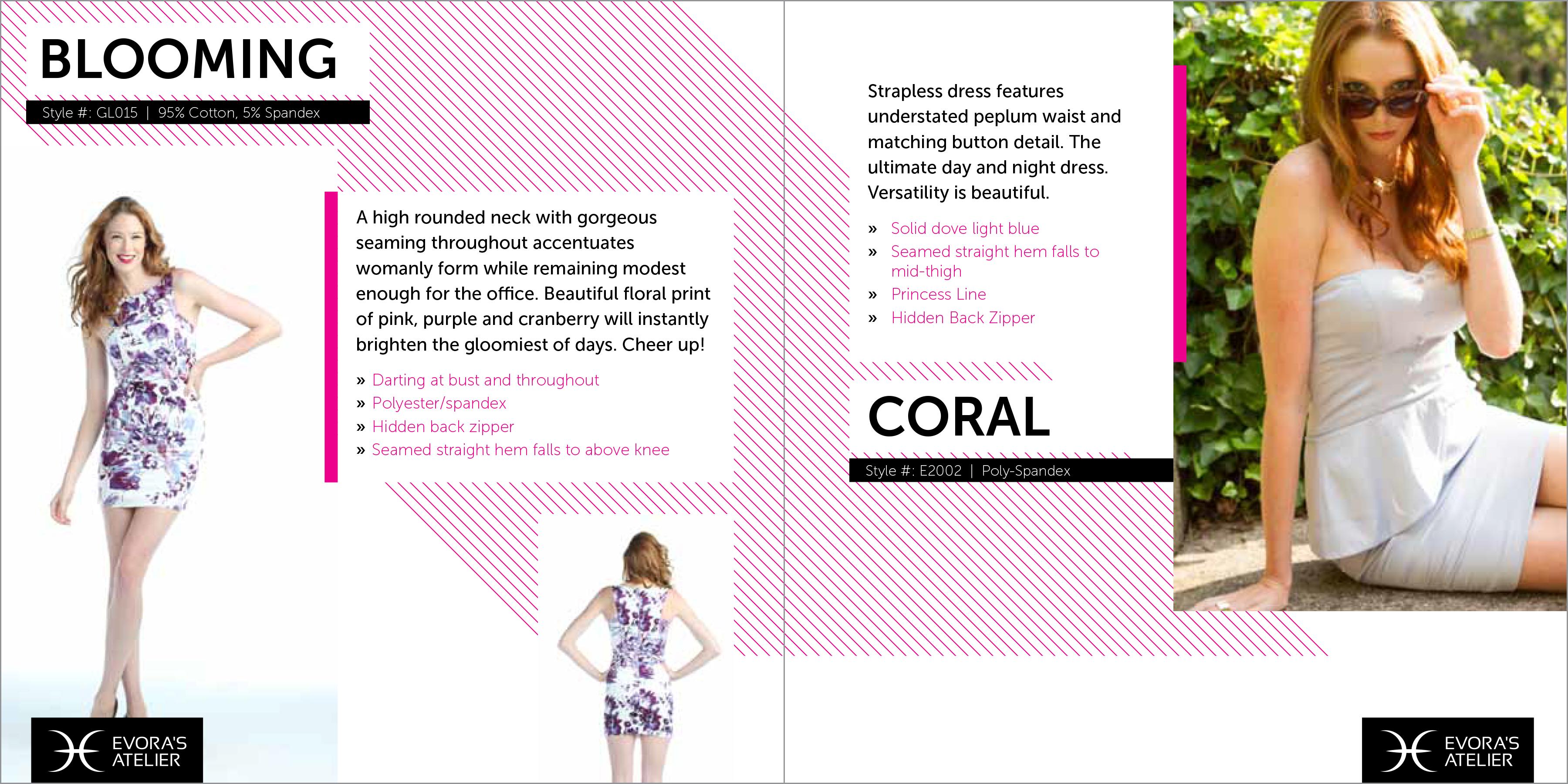 cute fashion catalog design