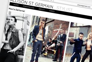 stylist website design nyc