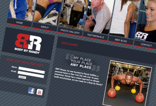 fitness website design nyc