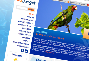 caribbean website design