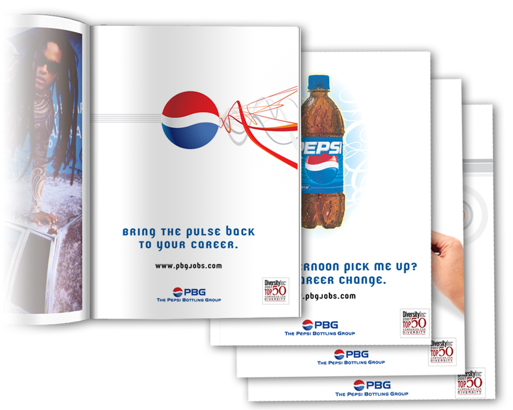 pepsi career ad design nyc