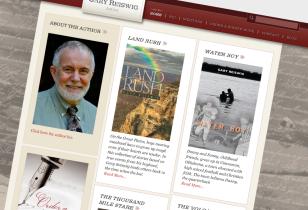 author website design nyc