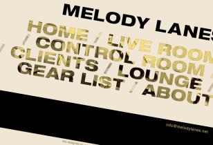 recording studio website design nyc