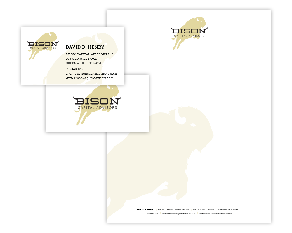 bison capital design identity
