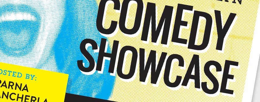 brooklyn comedy showcase poster design