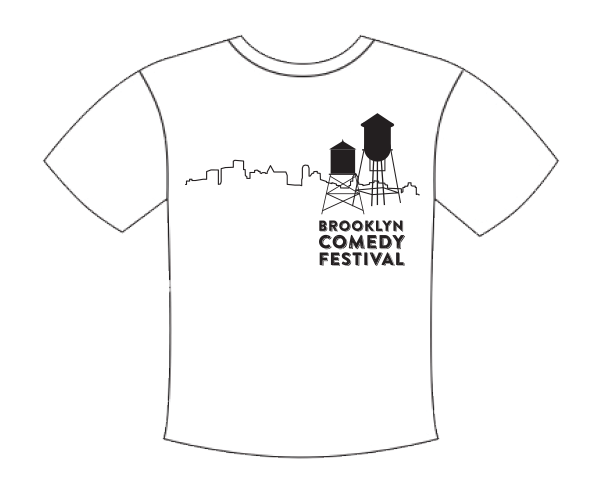 brooklyn comedy festival shirt design